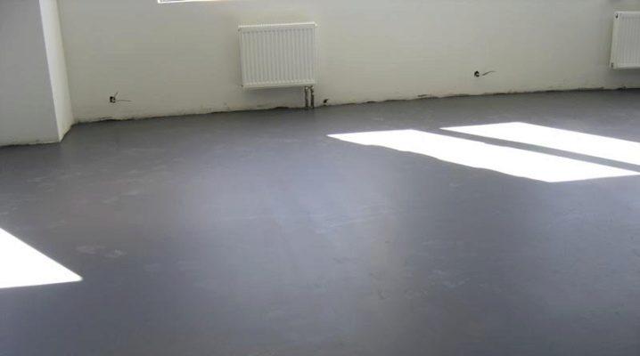 У вас должны быть бетонные полы